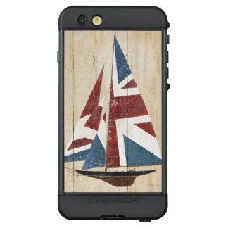 Funda NÜÜD De LifeProof Para iPhone 6s Plus Velero británico de la bandera