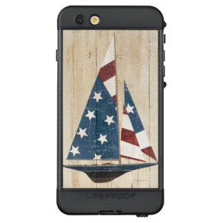 Funda NÜÜD De LifeProof Para iPhone 6s Plus Velero con la bandera americana