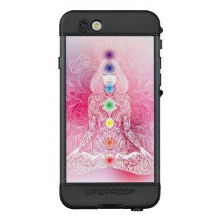 Funda NÜÜD De LifeProof Para iPhone 6s Señora rosada de siete Chakras
