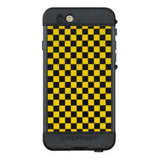 Funda NÜÜD De LifeProof Para iPhone 6s Tablero de damas amarillo