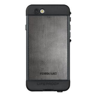 Funda NÜÜD De LifeProof Para iPhone 6s Textura cepillada del metal