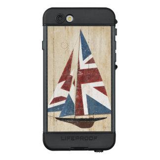 Funda NÜÜD De LifeProof Para iPhone 6s Velero británico de la bandera