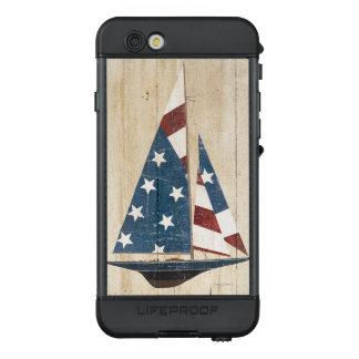 Funda NÜÜD De LifeProof Para iPhone 6s Velero con la bandera americana