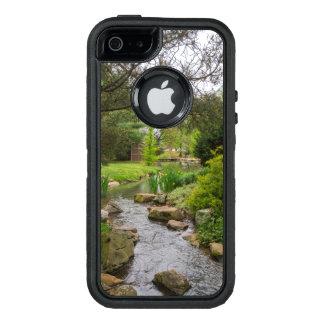 Funda OtterBox Defender Para iPhone 5 Belleza de la cala de la primavera