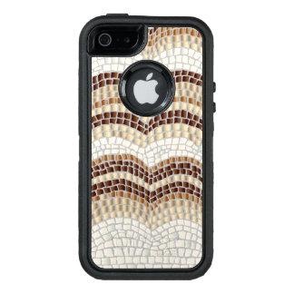 Funda OtterBox Defender Para iPhone 5 Caja beige del iPhone SE/5/5S de Apple del mosaico