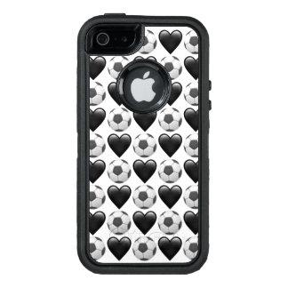Funda OtterBox Defender Para iPhone 5 Caso del iPhone SE/5/5s Otterbox de Emoji del