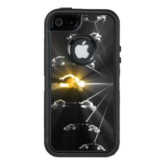 Funda OtterBox Defender Para iPhone 5 Ciencia del desarrollo y servicio personales el