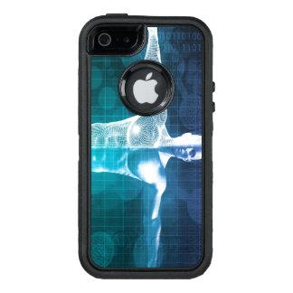 Funda OtterBox Defender Para iPhone 5 Ciencia médica