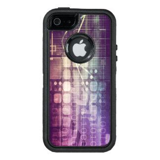 Funda OtterBox Defender Para iPhone 5 Concepto abstracto futurista en tecnología