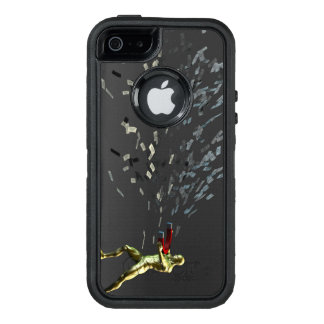 Funda OtterBox Defender Para iPhone 5 Concepto del márketing con el hombre de negocios
