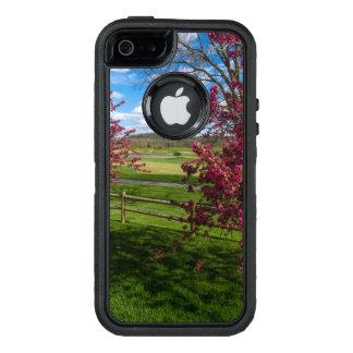 Funda OtterBox Defender Para iPhone 5 Día de primavera en Rivercut