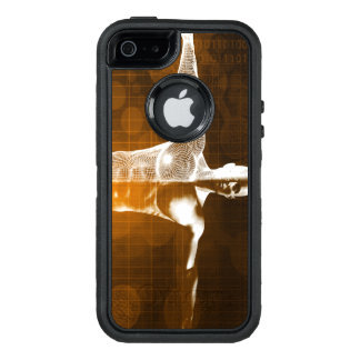 Funda OtterBox Defender Para iPhone 5 Extracto de la ciencia como arte del fondo del