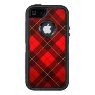 Funda OtterBox Defender Para iPhone 5 Fondo del tartán de Wallace