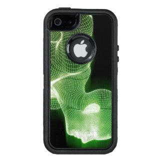 Funda OtterBox Defender Para iPhone 5 Forma de vida de la ciencia de la tecnología de la