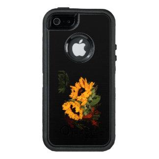 Funda OtterBox Defender Para iPhone 5 girasol del Otterbox Defender del SE del iPhone