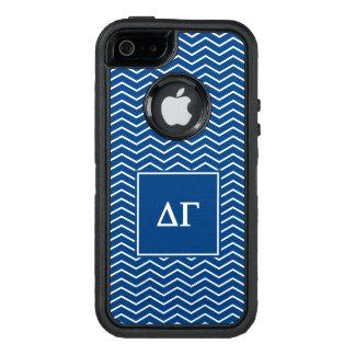 Funda OtterBox Defender Para iPhone 5 Golpeteo de la gamma el | Chevron del delta