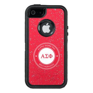 Funda OtterBox Defender Para iPhone 5 Insignia alfa de la phi el | de la sigma