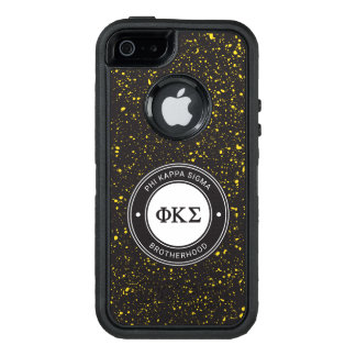 Funda OtterBox Defender Para iPhone 5 Insignia de la sigma el | de Kappa de la phi