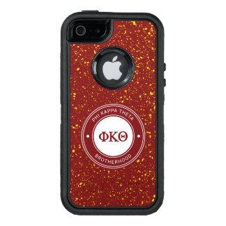 Funda OtterBox Defender Para iPhone 5 Insignia de la theta el | de Kappa de la phi