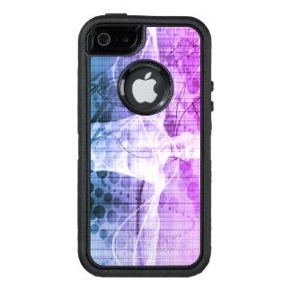 Funda OtterBox Defender Para iPhone 5 Investigación de la ciencia como concepto para la