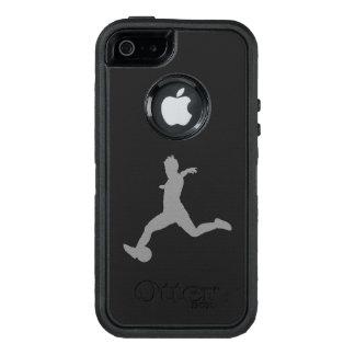 Funda OtterBox Defender Para iPhone 5 Jugador de fútbol de la mujer