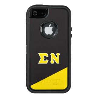 Funda OtterBox Defender Para iPhone 5 Letras del Griego de NU el | de la sigma