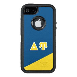 Funda OtterBox Defender Para iPhone 5 Letras del Griego de Upsilon el   del delta