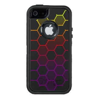 Funda OtterBox Defender Para iPhone 5 Maleficio del color con gris
