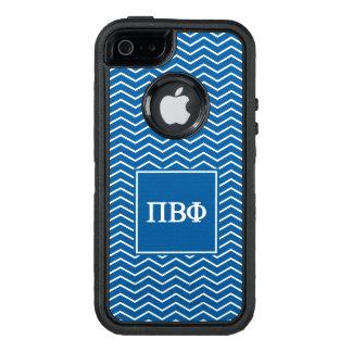 Funda OtterBox Defender Para iPhone 5 Modelo beta de la phi el | Chevron del pi