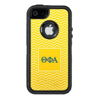 Funda OtterBox Defender Para iPhone 5 Modelo de la alfa el | Chevron de la phi de la