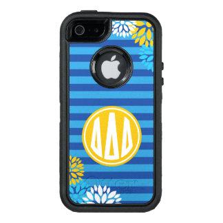 Funda OtterBox Defender Para iPhone 5 Modelo de la raya del monograma del delta el | del