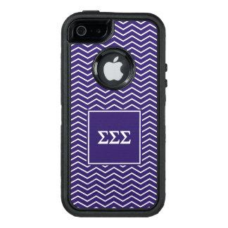 Funda OtterBox Defender Para iPhone 5 Modelo de la sigma el   Chevron de la sigma de la