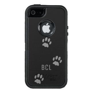 Funda OtterBox Defender Para iPhone 5 Otterbox Defender de la impresión de la pata del