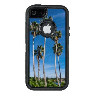 Funda OtterBox Defender Para iPhone 5 Palmas que curvan altas