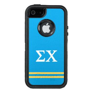 Funda OtterBox Defender Para iPhone 5 Raya del deporte de la ji el | de la sigma
