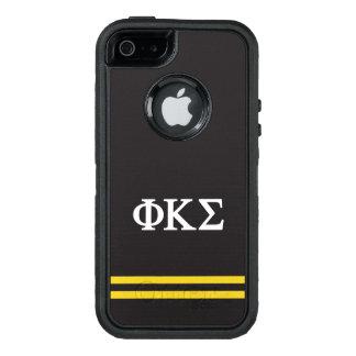 Funda OtterBox Defender Para iPhone 5 Raya del deporte de la sigma el   de Kappa de la