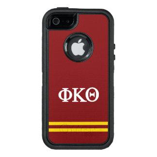 Funda OtterBox Defender Para iPhone 5 Raya del deporte de la theta el | de Kappa de la