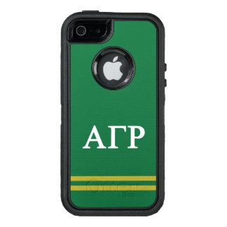 Funda OtterBox Defender Para iPhone 5 Raya gamma alfa del deporte de rho el |