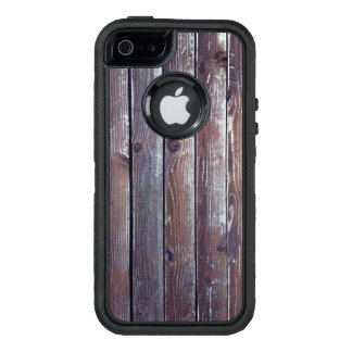 Funda OtterBox Defender Para iPhone 5 Textura de madera