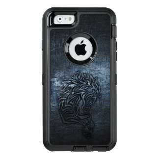 Funda OtterBox Defender Para iPhone 6 Acero tribal del caballo