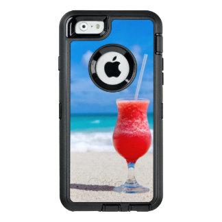 Funda OtterBox Defender Para iPhone 6 Agua tropical de la turquesa de la playa