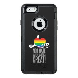 Funda OtterBox Defender Para iPhone 6 Ame no el iPhone y Samsung Otterbox del odio (arco