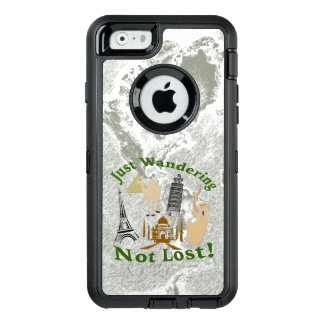 Funda OtterBox Defender Para iPhone 6 Apenas vagando diseño no perdido