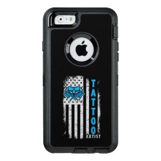 Funda OtterBox Defender Para iPhone 6 Bandera americana de los E.E.U.U. con el artista