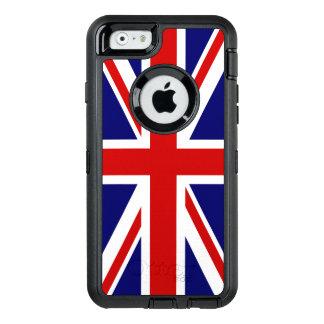 Funda OtterBox Defender Para iPhone 6 Bandera de Union Jack del Reino Unido