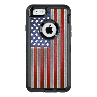 Funda OtterBox Defender Para iPhone 6 caja del teléfono celular de la bandera americana