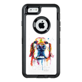 Funda OtterBox Defender Para iPhone 6 Caso del golden retriever de OtterBox