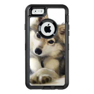 Funda OtterBox Defender Para iPhone 6 Caso lindo del perrito