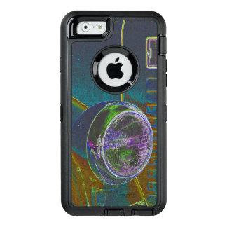 Funda OtterBox Defender Para iPhone 6 Diseño de neón del Firetruck