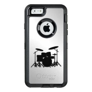 Funda OtterBox Defender Para iPhone 6 Diseño determinado de la música del tambor
